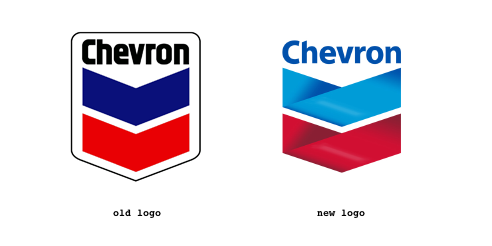 New Chevron Logo - Graphic Design Forum