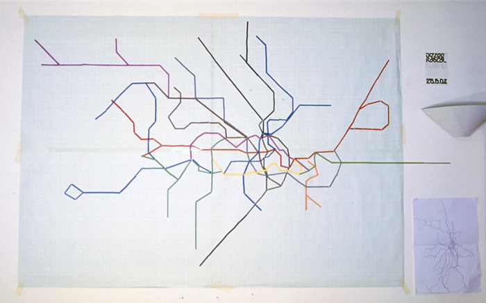 Nyc Subway Map Pda.Oskarlin Blog Archive Time Travel